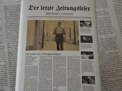 Der letzte Zeitungsleser